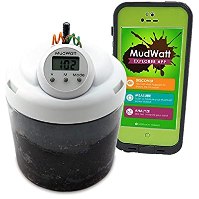 Magical Microbes MudWatt STEM Kit: Clean Energy from Mud! | Classic: Toys & Games