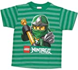 Lego Ninjago Lloyd the Green Ninja Striped T-shirt (4-7) (5/6)