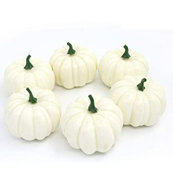 amazon com nice purchase realistic fake artificial small pumpkins