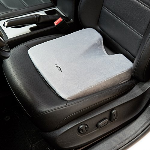 Aylio Comfort Foam Wedge Coccyx Cushion For A Car Seat Or