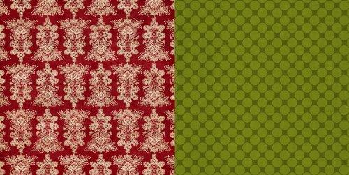Teresa Collins Designs Christmas Cottage Doily Tree Paper Teresa Collins Christmas