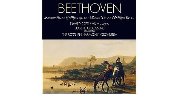 Romance for Violin and Orchestra No. 2 in F Major, Op. 50 de David Oistrakh en Amazon Music - Amazon.es
