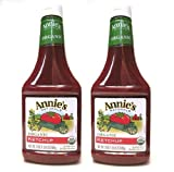 Annies Organic Ketchup (Pack of 2) 24 oz Squeeze Bottles