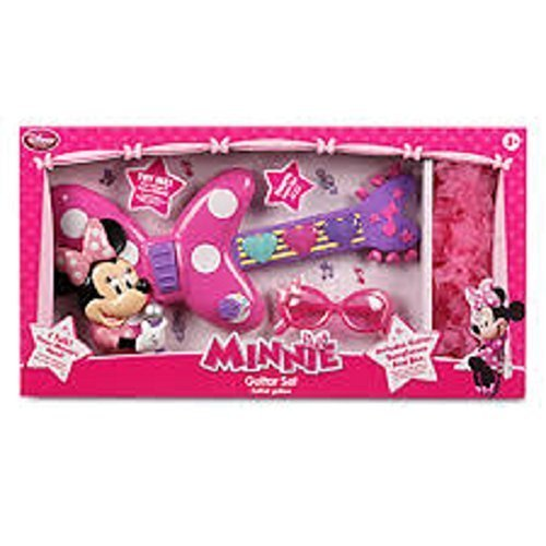 Minnie Mouse Talking Guitar Play Set w/sunglasses and Boa Scarf