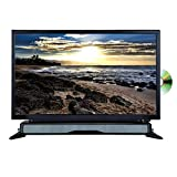 "AXESS TVD1804-24 24"" HD TV/DVD combo with External Soundbar Speaker, SD Card, AC/DC Power, HDMI port, Remote Control"