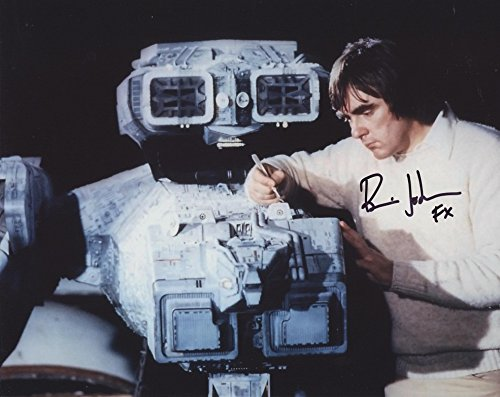 BRIAN JOHNSON – Special Effect Supervisor – Star Wars: The Empire Strikes Back GENUINE AUTOGRAPH