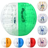 ANCHEER Inflatable Bumper Bubble Soccer Ball Dia 5FT (1.5m) Giant Human Hamster Zorb Ball for Adults and Kids (Green)