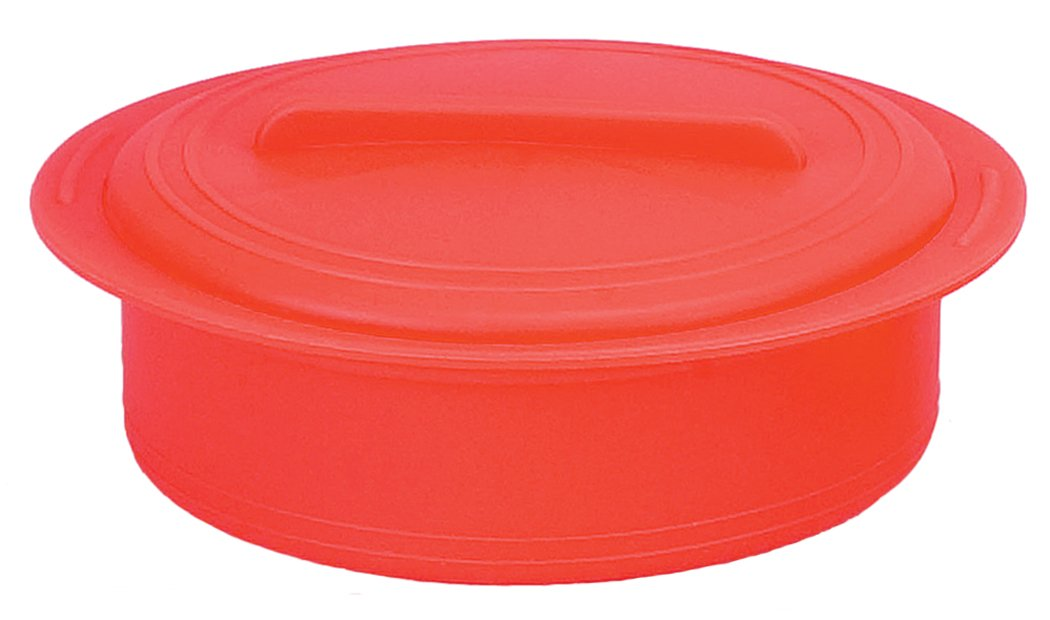 ViV Shirikonsuchima casserole M paprika Red 5969359693