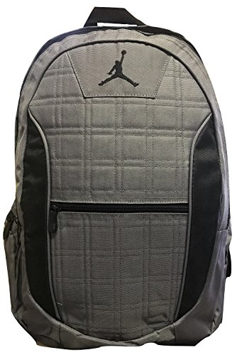 Jordan Grid 2-Strap Backpack - Dark Graphite, One Size (Grey)