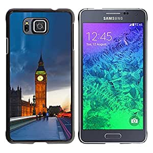 Impact Case Cover with Art Pattern Designs FOR Samsung ALPHA G850 The Big Ben London Betty shop