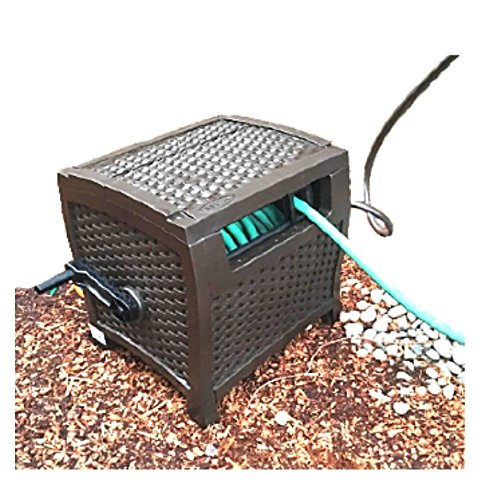 Hose Reel Box 150 Camping Garden Hide Heavy-Duty Wicker Cabinet Decorative Yard Outdoor Portable Patio & ebook by Hose Reel Box 150