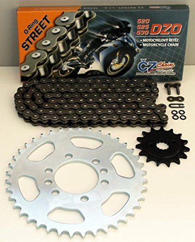 2004 2005 Kawasaki KFX400 KSF400 CZ O-Ring Chain & Sprocket +2 Swing Arm 14/40