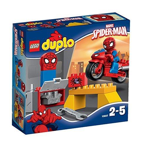 LEGO DUPLO Spider-Man Web-Bike Workshop Figure by LEGO