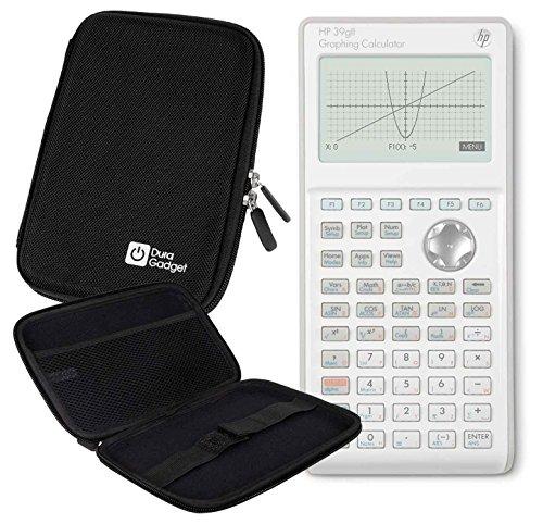 - DURAGADGET Hard Black Portable EVA Case with Zipper for The HP 39gII