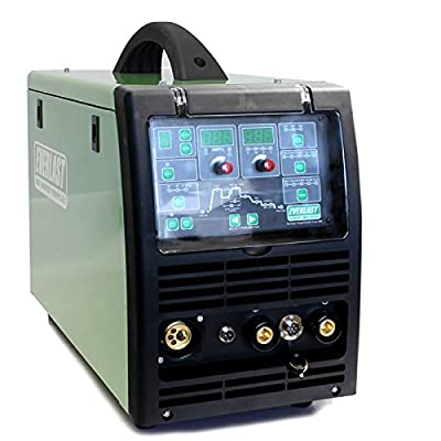 2018 Everlast PowerMIG 253Dpi GMAW-P/SMAW 250A 220v 1PH