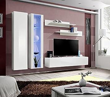 BMFu0026quot;Fly A1u0026quot; Modern Hochglanz Wohnzimmer/Schlafzimmer/Studio Flach  U2013 Möbel Set