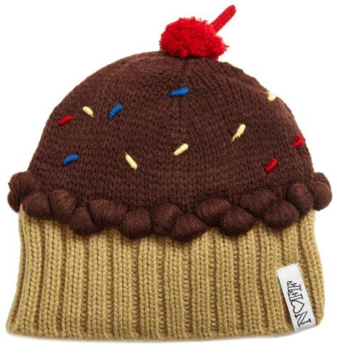 NEFF Women's Cupcake Beanie, Chocolate, One Size
