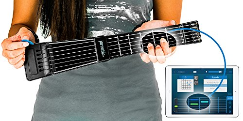 Jamstik+ Black Portable App Enabled MIDI Electric Guitar, for Beginners and Music Creators, iOS, Android & Mac Compatible, with Bluetooth Connectivity, Powered by Zivix by Zivix (Image #5)