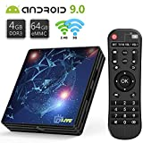 Android 9.0 TV Box 4GB RAM 64GB...
