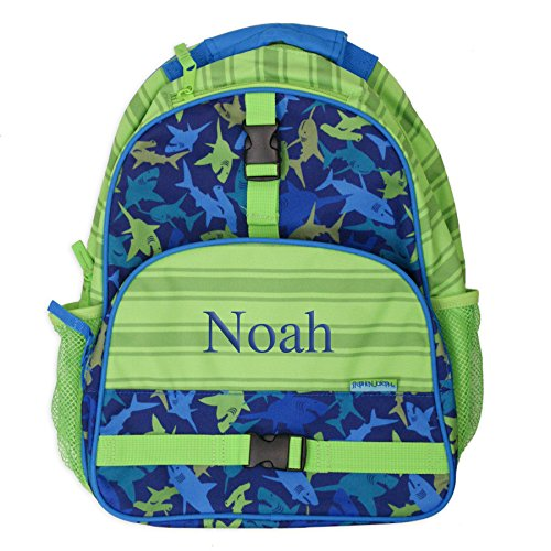 Kids Personalized Luggage - GiftsForYouNow Shark Personalized Kids Backpack
