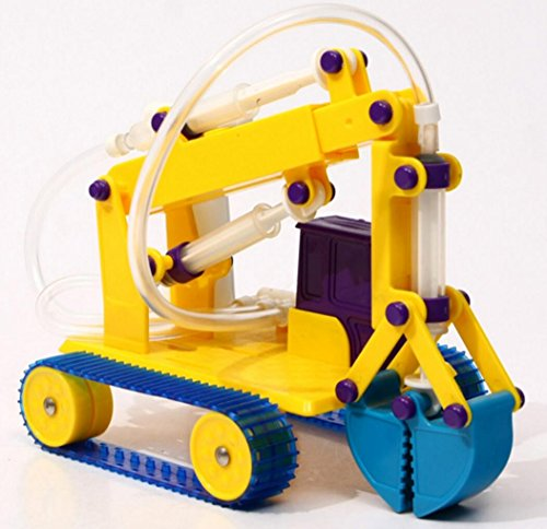 Children Hydraulic Robotic Grab Arm DIY Kit for Primary School Robotic Science Training