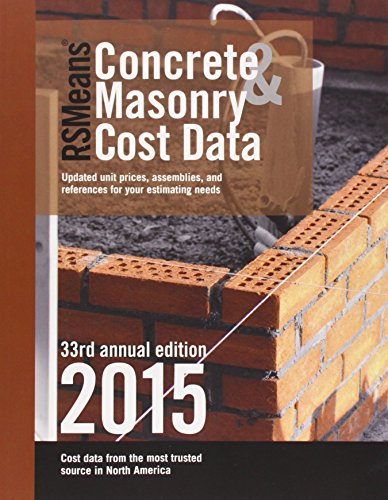 RSMeans Concrete & Masonry Cost Data 2015