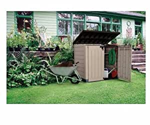 Large Storage Shed, Patio, Horizontal| Stands 4 Foot At Peak