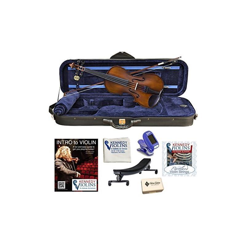 Bunnel Premier Student Violin Outfit (4/