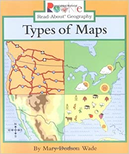 Amazon.com: Types of Maps (Rookie Read-About Geography ... on aerial photography, satellite imagery, early world maps, global map, map projection, geographic coordinate system, geographic information system, contour line,