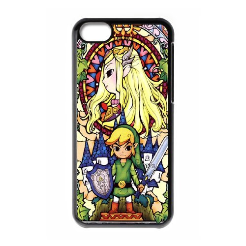 iPhone 5c Cell Phone Case The Legend of Zelda Game Custom Case Cover A1AA253414