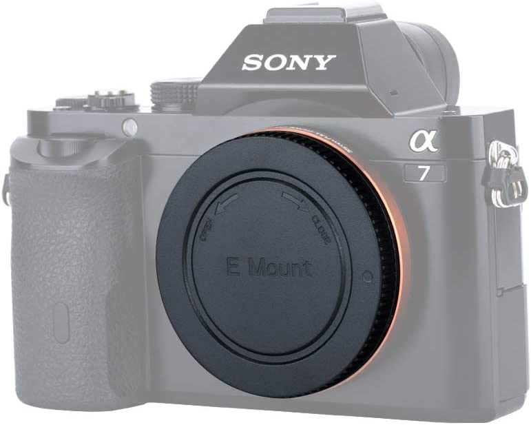 JJC Objektivdeckel Siehe Beschreibung f/ür mehr Kompatibilit/ätskameras f/ür SONY E Mount Objektiv hinten -- 1 St/ück pro Paket