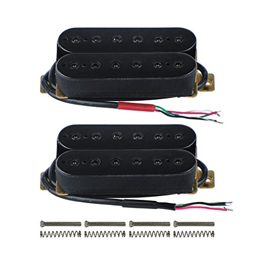 FLEOR Alnico 5 Electric Guitar Neck & Bridge Pickup Set