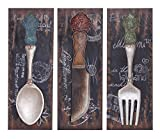 Deco 79 Colorful Flatware and Dinner Decor for The Dining Room