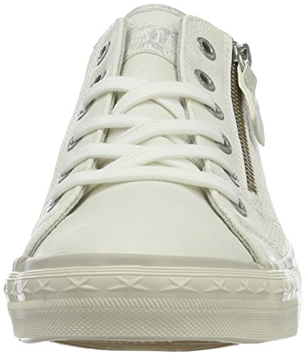 White Sneakers Weiß 1 Women's 1146 Top 1 Mustang 302 Low x4wOw0q