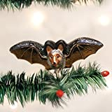 Old World Christmas Clip-On Bat Glass Blown Ornament