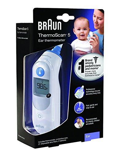 Braun Ear Thermometer, LF 40