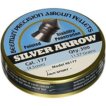 Beeman Silver Arrow .177 Cal, 11.57 Grains, Pointed, 300ct