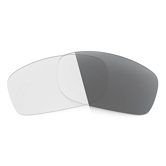 d928b15b5c3 Revant Replacement Lenses for Oakley Fives Squared Elite Adapt Grey  Photochromic  Amazon.co.uk  Clothing