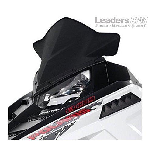 Genuine Pure Polaris Snowmobile Matte Black Pro-Ride Mid Windshield pt# 2879828