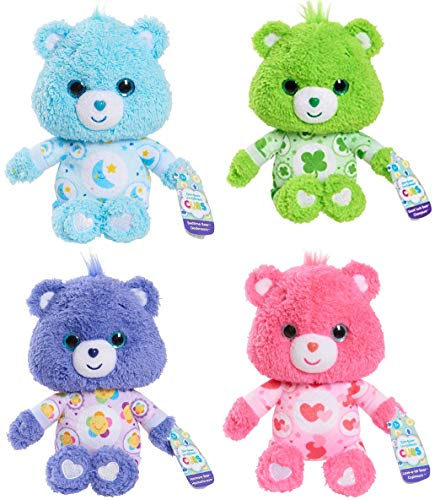"Care Bears Cubs Bundle Set of 4 Good Luck Bedtime Love-a-Lot Harmony 8"" from Care Bears"