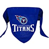 Hunter MFG Tennessee Titans Mesh Dog Bandana, Large