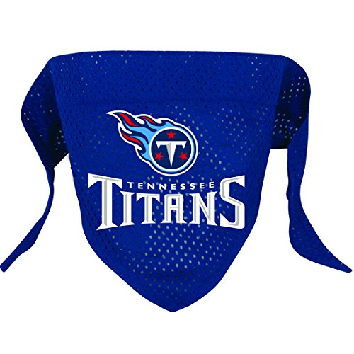 Hunter MFG Tennessee Titans Mesh Dog Bandana, Large