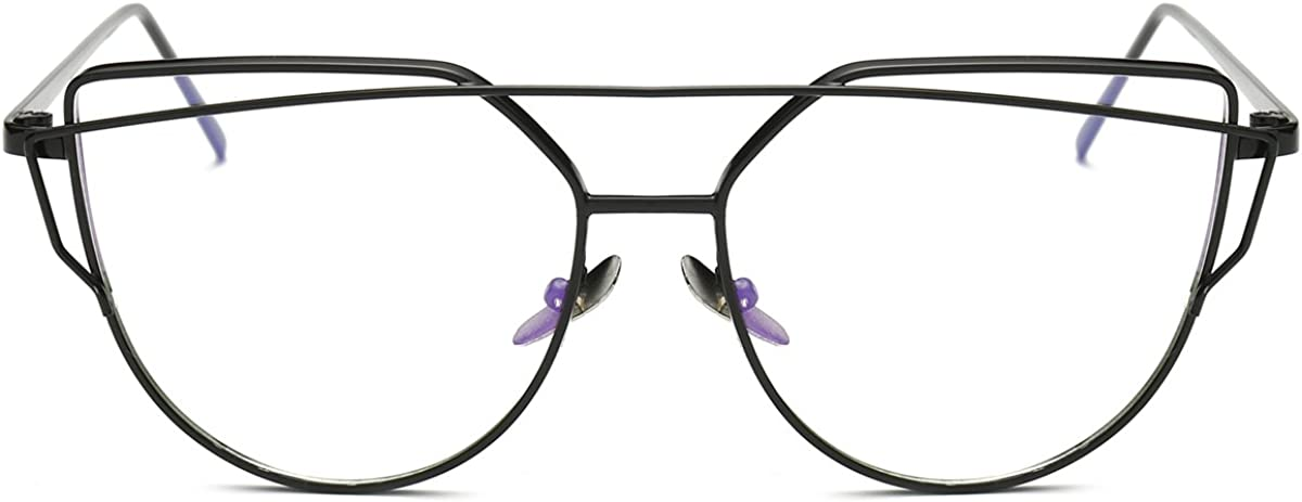 Pro Acme New Fashion Premium Cat Eye Clear Lens Glasses Frame Non-Prescription