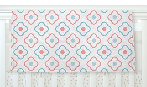 KESS InHouse KESS Original Baby Moroccan Blue Pink Fleece Baby Blanket 40 x 30 [並行輸入品]   B077ZWQ41Z
