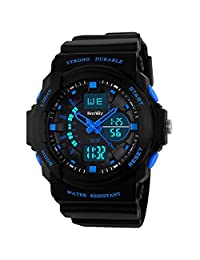 BesWLZ Multi Function Digital LED Quartz Watch Water Resistant Electronic Sport Watches Child