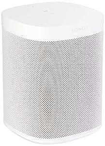 Sonos One - Smart Speaker with Alexa voice control built-In (White, Version 2)