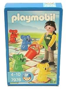 Playmobil 7976 - Juego de mesa con figuras de cuidadora de zoológico y cuatro koalas de colores