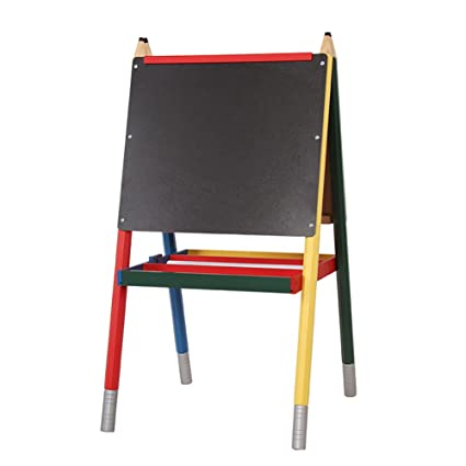 amazon com zxl children s drawing board easel double sided 2 10
