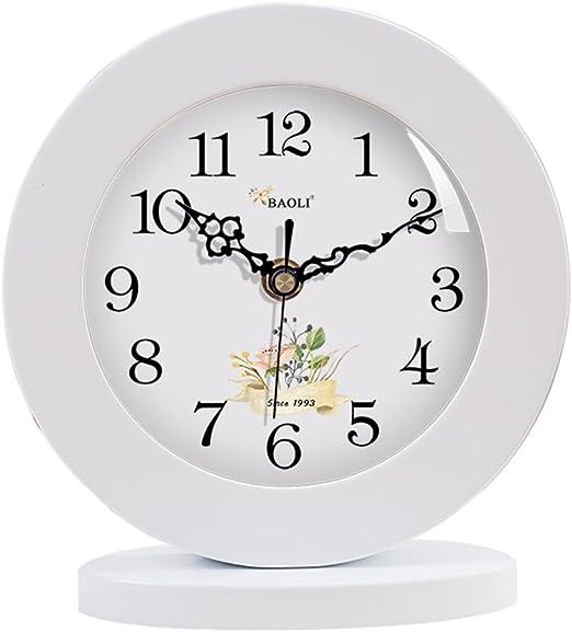 CLHXZE Reloj de Mesa Retro y Reloj de Mesa Mantel Vintage Retro ...