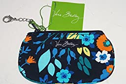 Vera Bradley Clip Zip ID in Midnight Blues